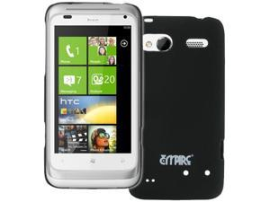 EMPIRE HTC Radar 4G Black Stealth Rubberized Hard Case Cover [EMPIRE Packaging]