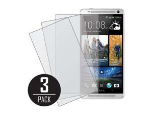 HTC One Max T6 Screen Protector Cover, MPERO Collection 3 Pack of Matte Anti-Glare Screen Protectors for HTC One Max T6