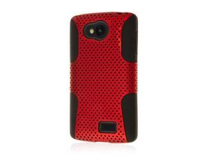 Tribute Case, MPERO FUSION M Series Protective Case for  F60 / Tribute LS660 - Red
