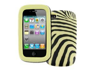 EMPIRE Apple iPhone 4/4S Zebra Stripes Design Case Cover [EMPIRE Packaging]