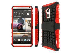 IMPACT SR Hybrid Kickstand Case, HTC One Max, Red