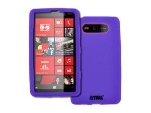 Empire Flexible Silicone Skin Purple Case for Nokia Lumia 820