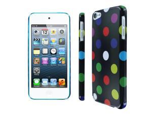 iPod Touch 5 Case, Empire Slim Fit Rainbow Polka Dot Case for Apple iPod Touch 5Gen 5th Gen