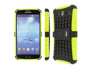 IMPACT SR Hybrid Kickstand Case, Samsung Galaxy Mega 5.8, Neon Green