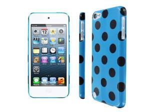 iPod Touch 5th gen Case, Empire Slim Fit Teal and Brown Polka Dot Case for Apple iPod Touch 5Gen 5th Gen
