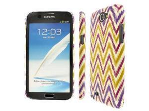 Samsung Note 2 Case, EMPIRE Slim Fit Aztec Stripes White Case for Samsung Galaxy Note 2 II
