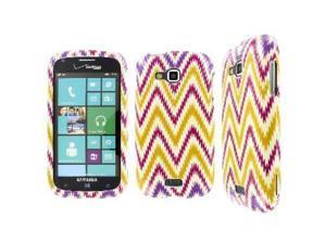 EMPIRE Full Coverage Aztec Stripes White Case for Samsung ATIV Odyssey I930