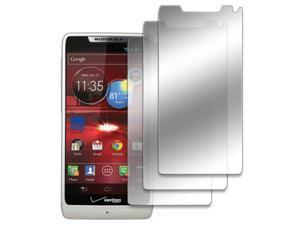 EMPIRE 3 Pack of Mirror Screen Protectors for Motorola DROID RAZR M XT907