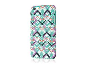 Signature Series Fashion Case, Apple iPhone 6 Plus 6S Plus, Purple Mint Waves