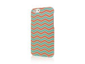 iPhone 6 / iPhone 6S Case, MPERO SNAPZ Series Rubberized Case for Apple iPhone 6 / iPhone 6S 4.7''- Mint Chevron