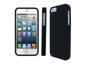 iPhone SE / 5 / 5S Case, EMPIRE New Apple iPhone SE 5 / 5S Rubberized Case Cover, Black