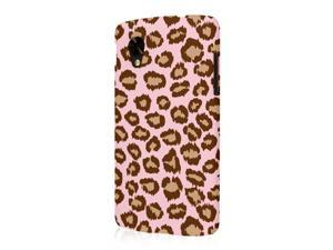 Nexus 5 Case, EMPIRE Signature Series One Piece Slim-Fit Case for Google Nexus 5 - Pale Pink Leopard
