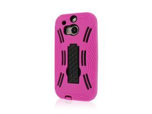 IMPACT XL Kickstand Case, HTC One M8, Hot Pink