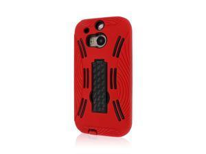 IMPACT XL Kickstand Case, HTC One M8, Red