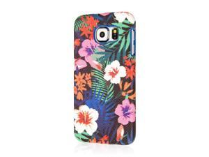 Signature Series Fashion Case, Samsung Galaxy S6, Hawaiian Blue Tropics