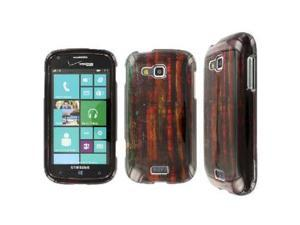 EMPIRE Full Coverage Rustic Wood Brown Case for Samsung ATIV Odyssey I930