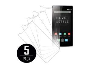 Clear Screen Protector Cover, One Plus One, 5-Pack