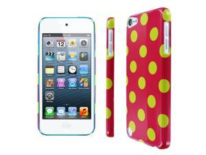 iPod Touch 5 Case, Empire Slim Fit Electric Lemonade Polka Dot Case for Apple iPod Touch 5Gen 5th Gen