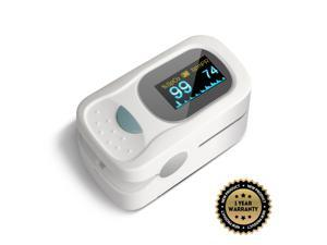 Digital Finger Pulse Oximeter Blood Oxygen SpO2 PR Heart Monitor Waterproof OLED
