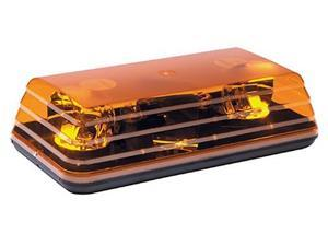 "(1) 15"" Ecco  Amber MiniBar Rotating Lightbar 5135"