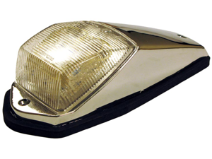 Amber LED Cab Marker Light with Clear Lens for Heavy Duty Trucks