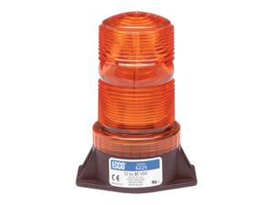 ECCO Amber Medium Profile Industrial Strobe 6225A