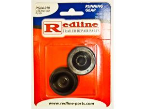 One Pair of Trailer Grease Cap Plugs Redline RG04-010