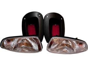 EZGO RXV Golf Cart Light Kit, Headlights and Tail Lights EZGO RXV 08+