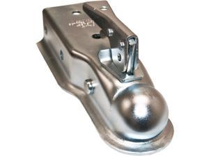 "Bolt On Trailer Coupler with 2"" Ball and 3500 LBS Capacity - 3"" Tongue"
