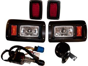 Club Car DS Deluxe Light Kit Street Legal Turn Signal + LED Brakes 93+