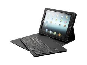 iPAD2 / New iPAD2 FAUX LEATHER PORTFOLIO CASE COVER WITH DETACHABLE BT KEYBOARD