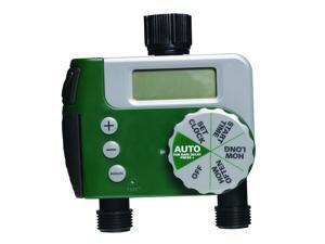 Orbit Digital Two Automatic Outlet Hose Faucet Lawn Watering Timer - 91214