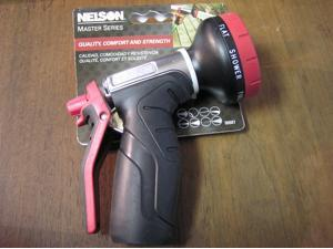 Nelson 8-Pattern Water Hose Spray Nozzle - Watering Nozzles - 50507