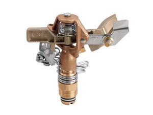 1/2In Brass Impact Sprinkler Orbit Irrigation Products 55032 046878550322