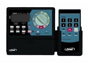 Orbit Sprinkler Timer with Remote Control - Super-6 Irrigation Controller, 91006