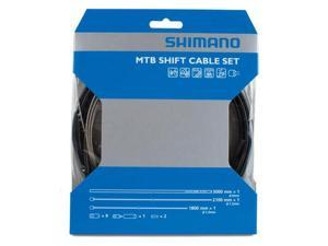 Shimano MTB SUS gear-cable set black housing