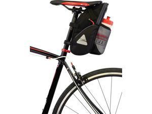 Axiom GranFondo H20 Seat Bag: Black/Gray