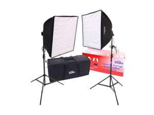 RPS Studio 20 x 20 Quick-Folding Softbox Kit with Daylight Cool Flourescent Lam