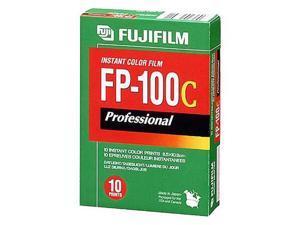 """Fujifilm FP-100C Color Instant Film 3.25 x 4.25"""" ISO 100, 10 exposures"""