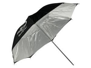 """Photogenic Eclipse 32"""" Umbrella with Silver Interior"""