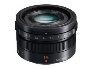 Panasonic LUMIX G Leica DG Summilux 15mm f/1.7 Lens (Black)