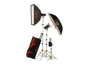 Photogenic AKC850K StudioMax 800W/S Portrait Studio 3 Light Soft Box Kit