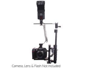 RPS Studio Digital Flash Bracket with Off Camera Shoe Cord & Remote (3 pin) Con