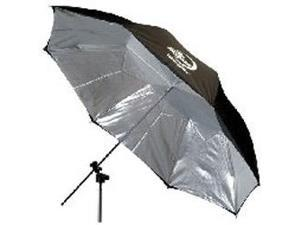 "Photogenic Eclipse 60"" Umbrella with Silver Interior"