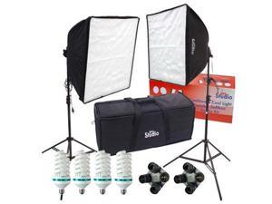 RPS Studio Fluorescent Dual Square Folding Deluxe High Power Softbox Photograph