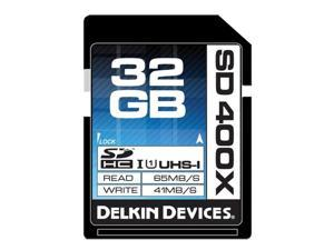 Delkin Devices 32GB SDHC 400X UHS-I Memory Card