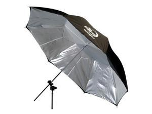 "Photogenic Eclipse 45"" Umbrella with Silver Interior"