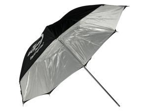 "Photogenic Eclipse 32"" Umbrella with Silver Interior"