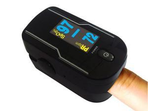 Carepeutic Finger Oximeter the Only Heart Rate and Blood Oxygen Monitor with OLED Display and Four Reading Directions