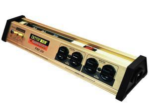 Castle PLF-500-PRO 8 Outlets + 2 USB Sockets 1467 Joules Surge Protector